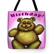 Babys First Birthday Tote Bag