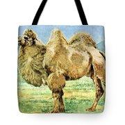 Bactrian Camel, Endangered Species Tote Bag