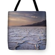 Badwater Salt Flats 1 Tote Bag