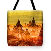 Bagan Pagodas Tote Bag