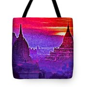 Bagan Sunrise Tote Bag