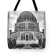 Baha'i House Of Worship Tote Bag
