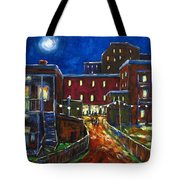 Balconville Tote Bag