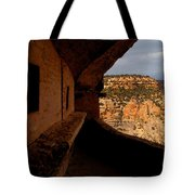 Balcony House Tote Bag