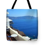 Balcony View Tote Bag