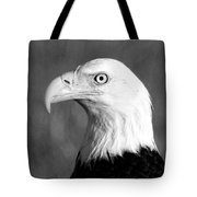 Bald Eagle Portrait Tote Bag