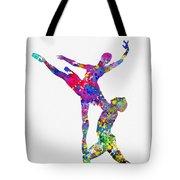 Ballet Dancer-colorful Tote Bag