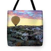 Ballooning At Sunrise No 2 Tote Bag