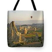 Ballooning In Cappadocia Tote Bag