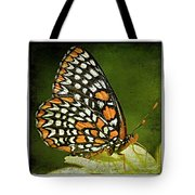 Baltimore Checkerspot Tote Bag
