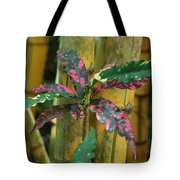 Bamboo Flower Tote Bag