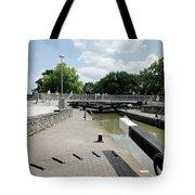Bancroft Basin - Canal Lock Tote Bag
