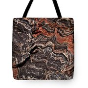 Banded Gneiss Rock Tote Bag