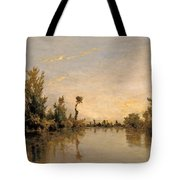 Banks Of The Seine Tote Bag