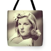 Barbara Bel Geddes, Vintage Actress Tote Bag