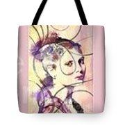 Barbara Blue Tote Bag