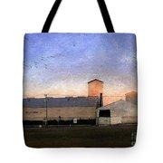 Barn At Sunrise Tote Bag