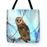 Barn Owl Beauty Tote Bag