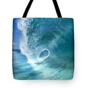 Barrel Swirl  -  Triptych  Part 2 Of 3 Tote Bag