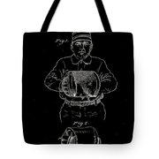 Baseball Glove Patent 1905 Tote Bag