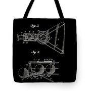 Basketball Practice Device Patent 1960 Part 2 Tote Bag