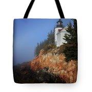 Bass Harbor Lighthouse, Acadia National Park Tote Bag