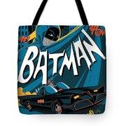 Batman Art Tote Bag
