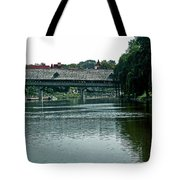 Bavarian Covered Bridge Tote Bag