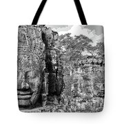 Bayon Faces  Tote Bag