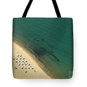 Beach Along Lake Michigan Tote Bag