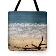 Beach At Grand Turk Tote Bag