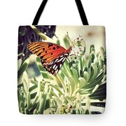 Beach Butterfly Tote Bag