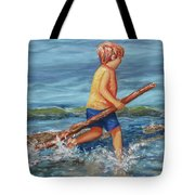 Beach Enterprise Tote Bag