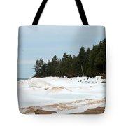Beach Of Ice Tote Bag