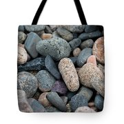 Beach Of Stones Tote Bag