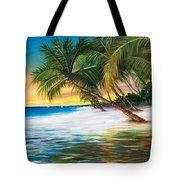 Beach Waves Tote Bag