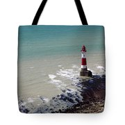 Beachy Head Lighthouse Tote Bag