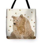 Bear Grizzly  Tote Bag