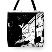 Beardsley: Yellow Book Tote Bag