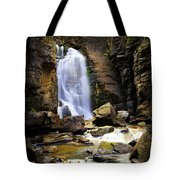 Beartooth Falls Tote Bag
