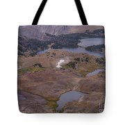 Beartooth Highway Cirques Tote Bag