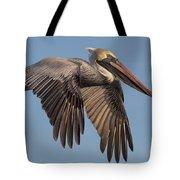 Beautiful Brown Pelican Tote Bag