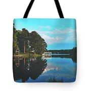 Beautiful Bunn Lake - Zebulon, North Carolina Tote Bag