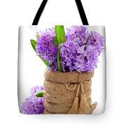 Beautiful Hyacinths Tote Bag