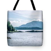 Beautiful Landscape In Alaska Mountains  Tote Bag