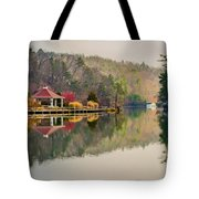 Beautiful Landscape Near Lake Lure North Carolina Tote Bag
