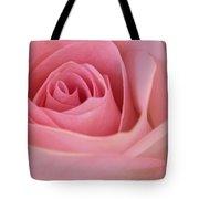 Beautiful Pink Rose Closeup Tote Bag