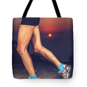 Beautiful Sportive Womens Legs Tote Bag
