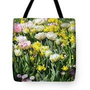 Beautiful Spring Flowers Tote Bag