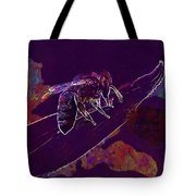 Bee Honey Bee Apis Insect Flower  Tote Bag